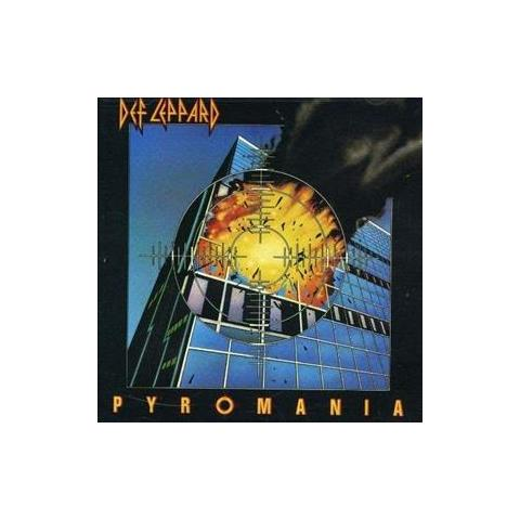 Video Delta Cd Def Leppard - Pyromania