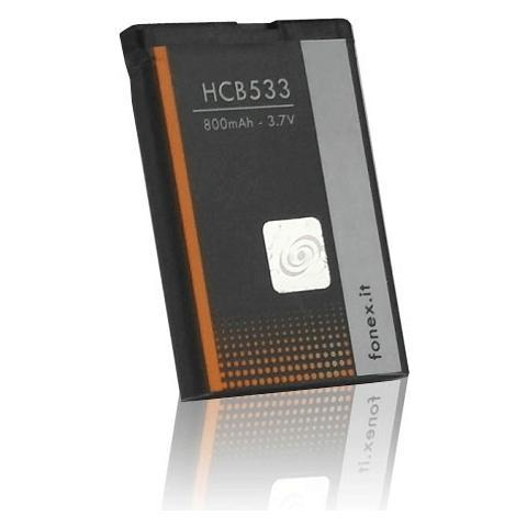 FONEX Batteria Li-Ion High Capacity 800 mAh per Nokia 2630/6111