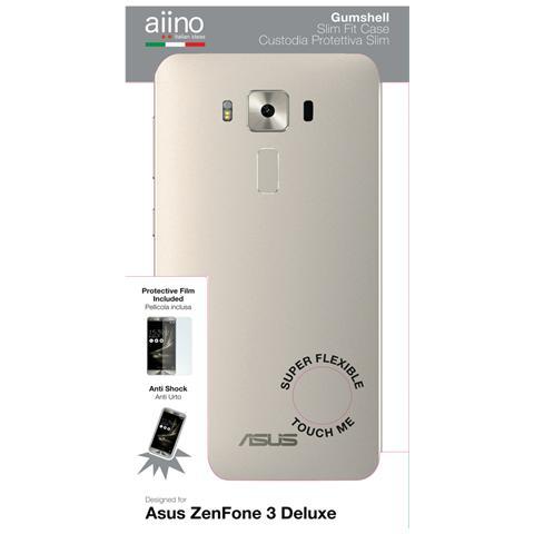AIINO Custodia Gumshell per Asus ZenFone 3 Deluxe - Clear