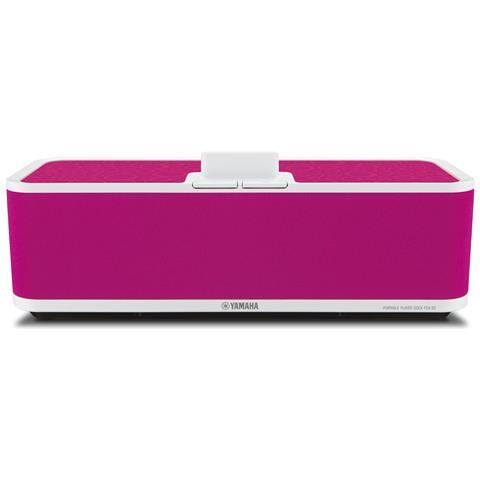 YAMAHA PDX-50 - stereo dock station per iPod, 6Ohm, 1kHz, 1.7kg, rosa