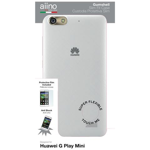 AIINO Custodia Gumshell per Huawei G Play Mini - Clear