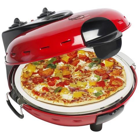 Macchina Per La Pizza In Pietra 1000 W Rossa Dld9070