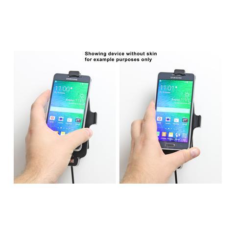 BRODIT 521659 Auto Active holder Grigio supporto per personal communication