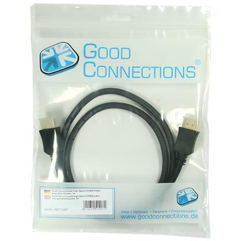 ALCASA HDMI, 10m 10m HDMI HDMI Nero cavo HDMI