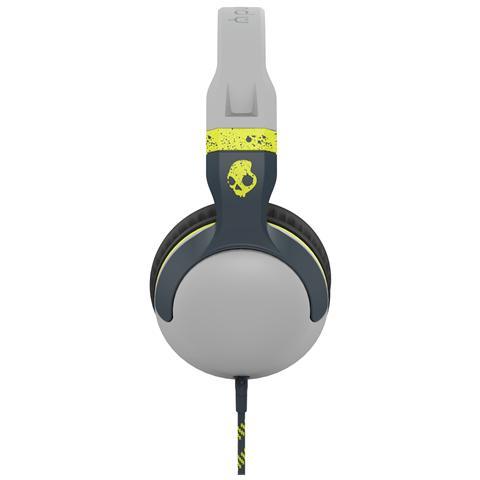 SKULLCANDY Cuffie Over-Ear Hesh 2 Mic1 Supreme Sound colore Grigio / Giallo