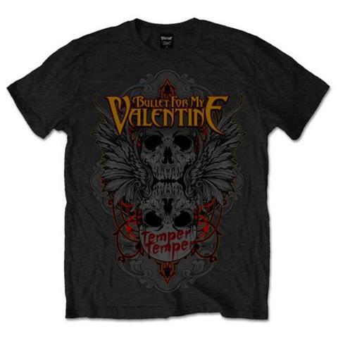 ROCK OFF Bullet For My Valentine - Winged Skull (T-Shirt Unisex Tg. S)