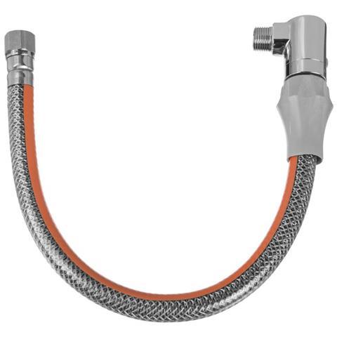 100 Centimetri Gas Tubo Di Collegamento Dn12 G1 2 filetto Maschio X Femmina Gomito A Sganc...