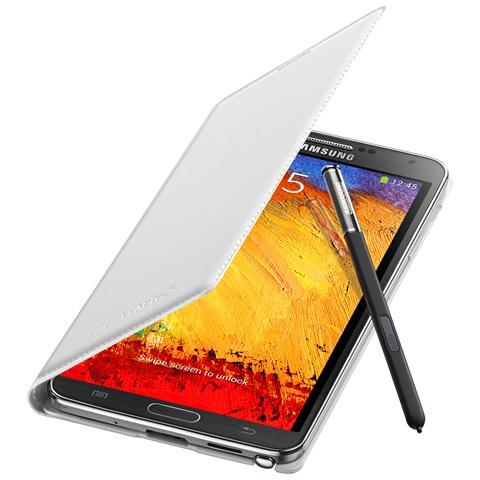 SAMSUNG Custodia Classica Bianca compatibile con Galaxy Note 3