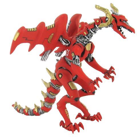 Plastoy 60264 - Draghi - Drago Robot Rosso