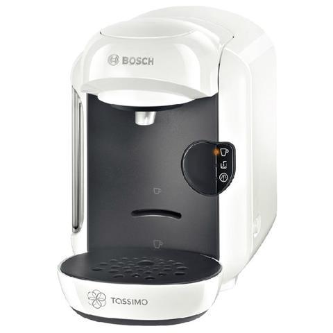 TAS1204 Macchina da Caffè Automatica Espresso Capacità 0.7 Litri Potenza 1300 Watt Colore Bianco