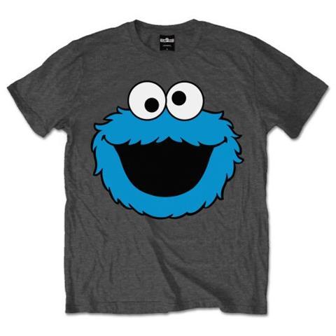 ROCK OFF Sesame Street - Cookie Head (T-Shirt Unisex Tg. L)