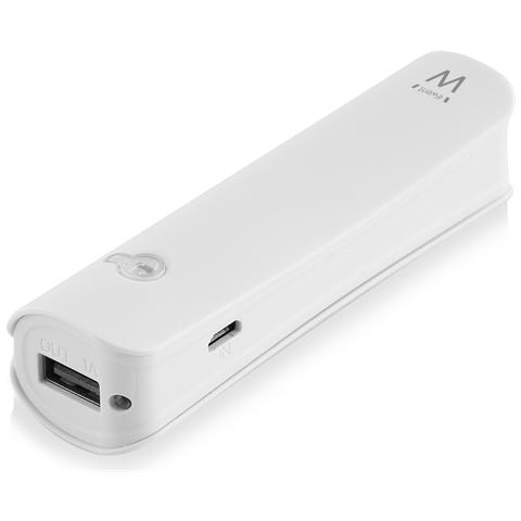 EWENT PowerBank portatile con porta USB da 2600mAh