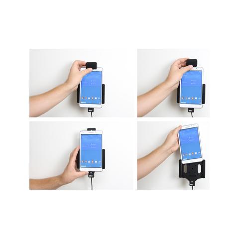 BRODIT 546682 Auto Active holder Grigio supporto per personal communication