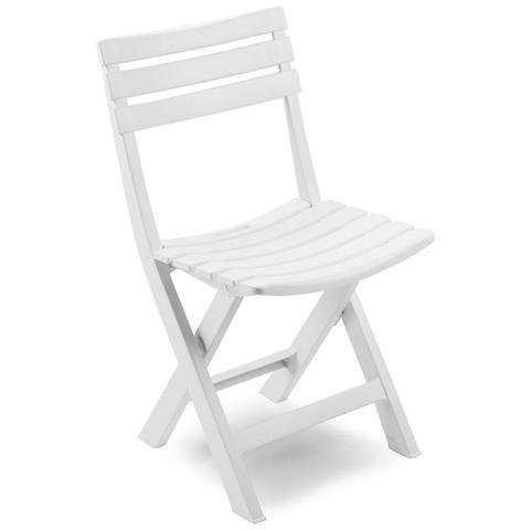 Sedia da Giardino Colore Bianco - Modello Birki