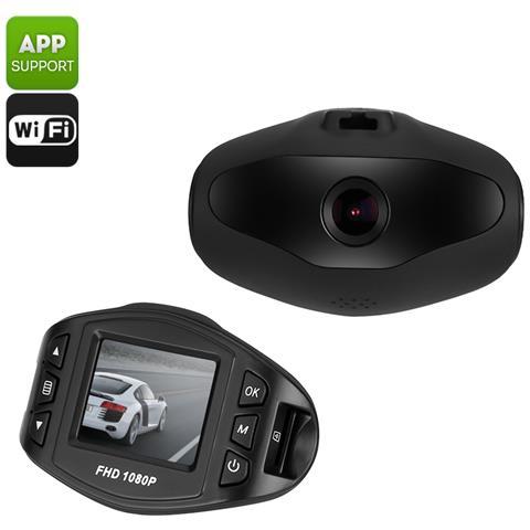 """Car Video Telecamera Auto Angolo Visione 170 Gradi Sensore Sony WiFi Display LCD 1.5"""""""