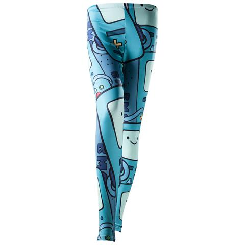 BIOWORLD Adventure Time - Beemo All Over Print (Leggings Tg. XS)