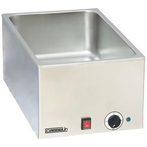 Bagnomaria Inox 1 Vasca 1200 Watt