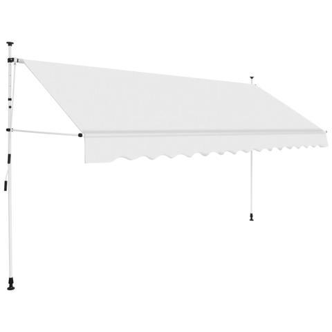 Tenda Da Sole Retrattile Manuale 350 Cm Crema