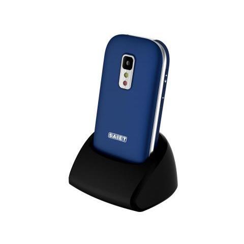 SAIET Unico Blu Dual Band Bluetooth con Tasti Grandi + SOS RadioFM e vivavoce - Italia