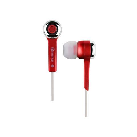 """Memup Jazz'Up Bud, Stereofonico, Rosso, Interno orecchio, Cablato, Ogni marca, 3.5 mm (1/8"""")"""