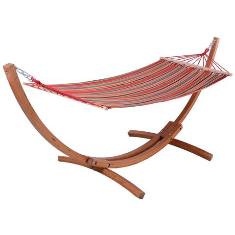 Amaca In Legno Relax - Dammas - 3 M - Rosso