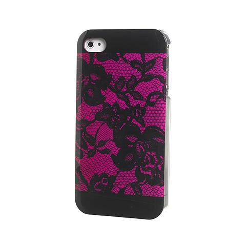 CELLY cover laces fuchsia ip4/4s