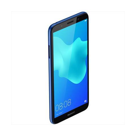 """HUAWEI Y5 (2018) Blu Dual Sim Display 5.45"""" Quad Core Ram 2GB Storage 16GB +Slot MicroSD WiFi - 4G Fotocamera 8Mpx Android"""
