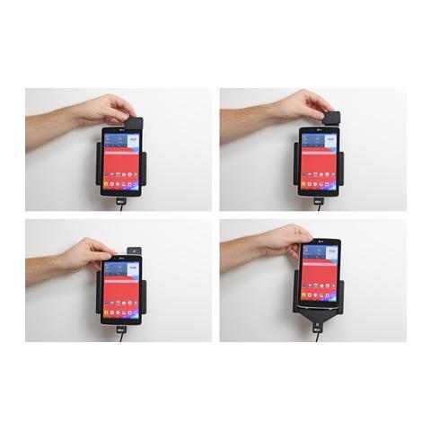 BRODIT 546708 Auto Active holder Grigio supporto per personal communication