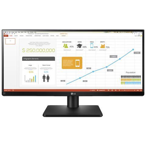 Image of 29UB67 Monitor 29'' IPS 2560x1080 Tempo di risposta 5ms Contrasto 5M: 1 Luminosit