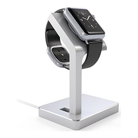 SATECHI aluminio Watch Stand argento