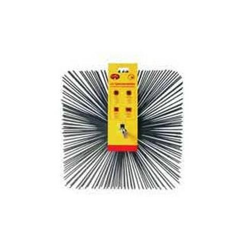 BEST FIRE PR3041 Scovolo Quadrato in Acciaio 20x20 cm