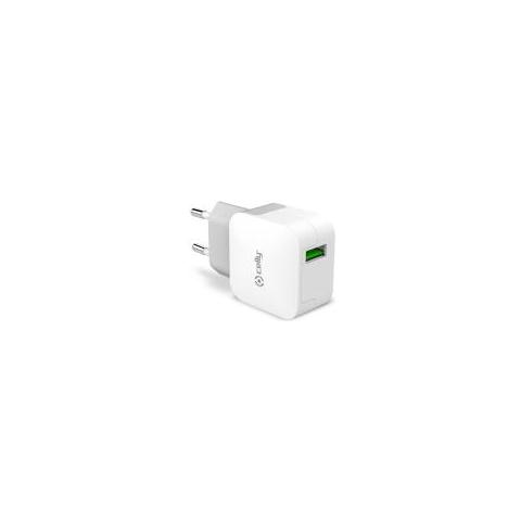 CELLY Travel Charger Turbo 1 Usb 2.4a
