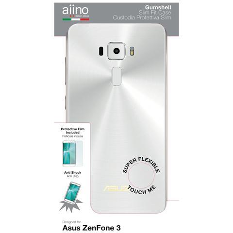 AIINO Custodia Gumshell per Asus ZenFone 3 - Clear