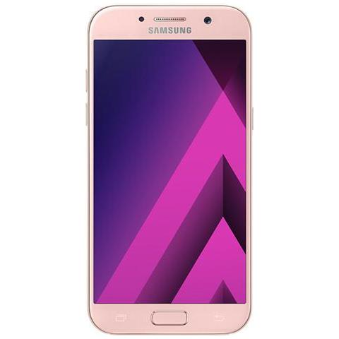 "SAMSUNG Galaxy A5 (2017) Rosa 32 GB 4G / LTE Display 5.2"" Full HD Slot Micro SD Fotocamera 16 Mpx Android Europa"
