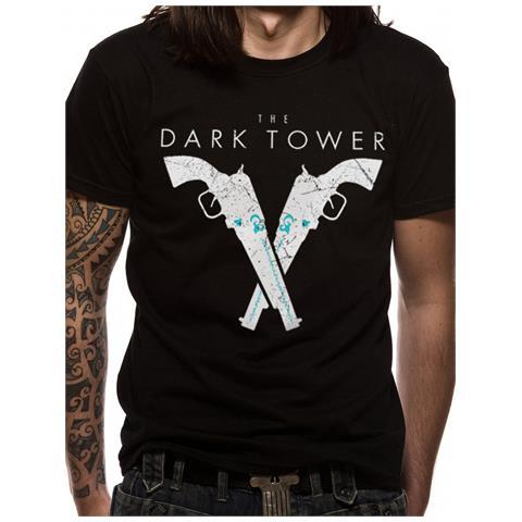CID Dark Tower - Pistols (T-Shirt Unisex Tg. S)