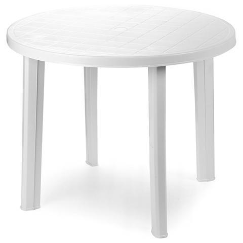 Tavolo Tondo Colore Bianco