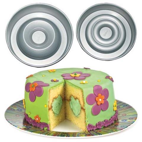 Set riempi torta con cuore 21x7cm antiaderente