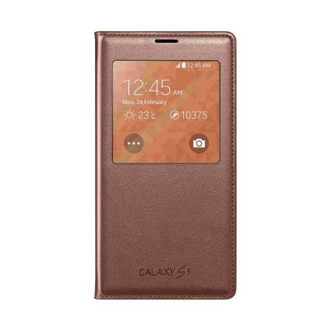 SAMSUNG S-view Cover Ef-cg900bfegww Rose X Galaxy S5 - Rose Gold