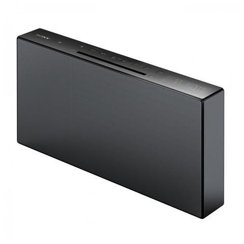SONY Sistema Mini Hi-Fi All in One CMT-X3CD Lettore CD Supporto MP3 Potenza Totale 20Watt Bluetooth / NFC colore Nero