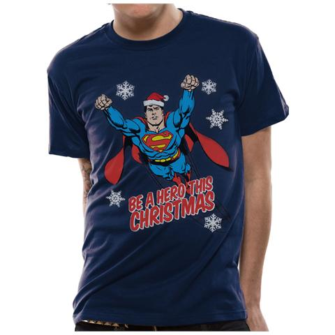 CID Superman - Christmas Hero (T-Shirt Unisex Tg. Xl)