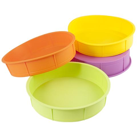 Tortiera Silicone Colori Assortiti Cm28 Pasticceria