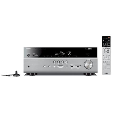 YAMAHA Sintoamplificatore RX-V679 7.2 HDMI / USB Bluetooth / Airplay / WiFi Colore Titanio