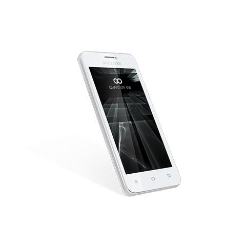 "Goclever Quantum 450 Bianco 4 GB Dual Sim Display 4.5"" Fotocamera 5 Mpx Android Italia"