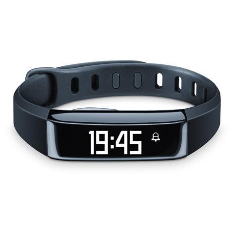 BEURER AS 80 Display OLED Bracciale sensore di Attività fisica + Sonno Bluetooth - Nero
