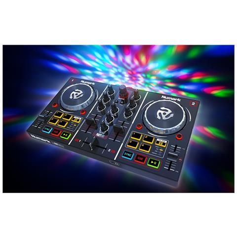 Numark Party Mix DJ - Controller entry level con effetti luce integrati