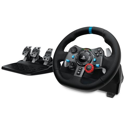 LOGITECH [Ricondizionato GOLD] Volante G29 Driving Force Racing per PlayStation 4, PlayStation 3 e PC