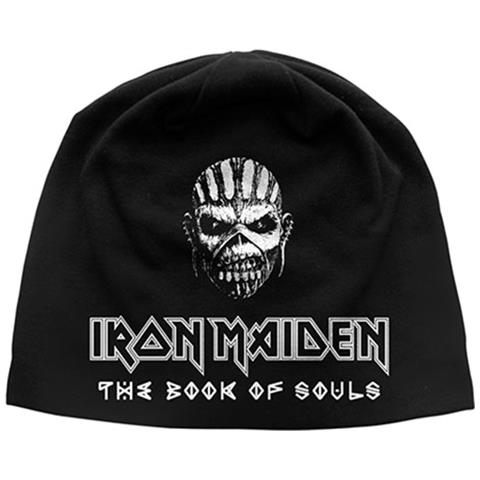 ROCK OFF Iron Maiden - The Book Of Souls (Discharge Print) (Berretto)