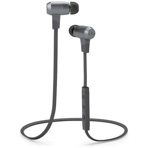OPTOMA BE6i, Stereofonico, Bluetooth, Interno orecchio, Grigio, Metallico, Bluetooth, Intraurale