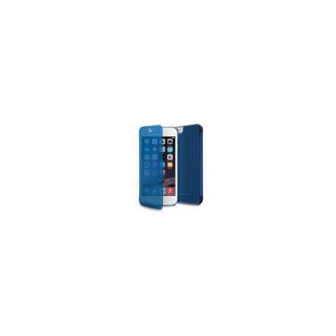 PURO Custodia Puro Italia Independent Ip6 4.7 Senses Con Funzione Quick View E Answer Call Blu