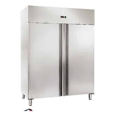 Armadio Refrigerato Congelatore Ventilato Gn2/1 Acciaio Inox -18 / -22°c Doppia Porta
